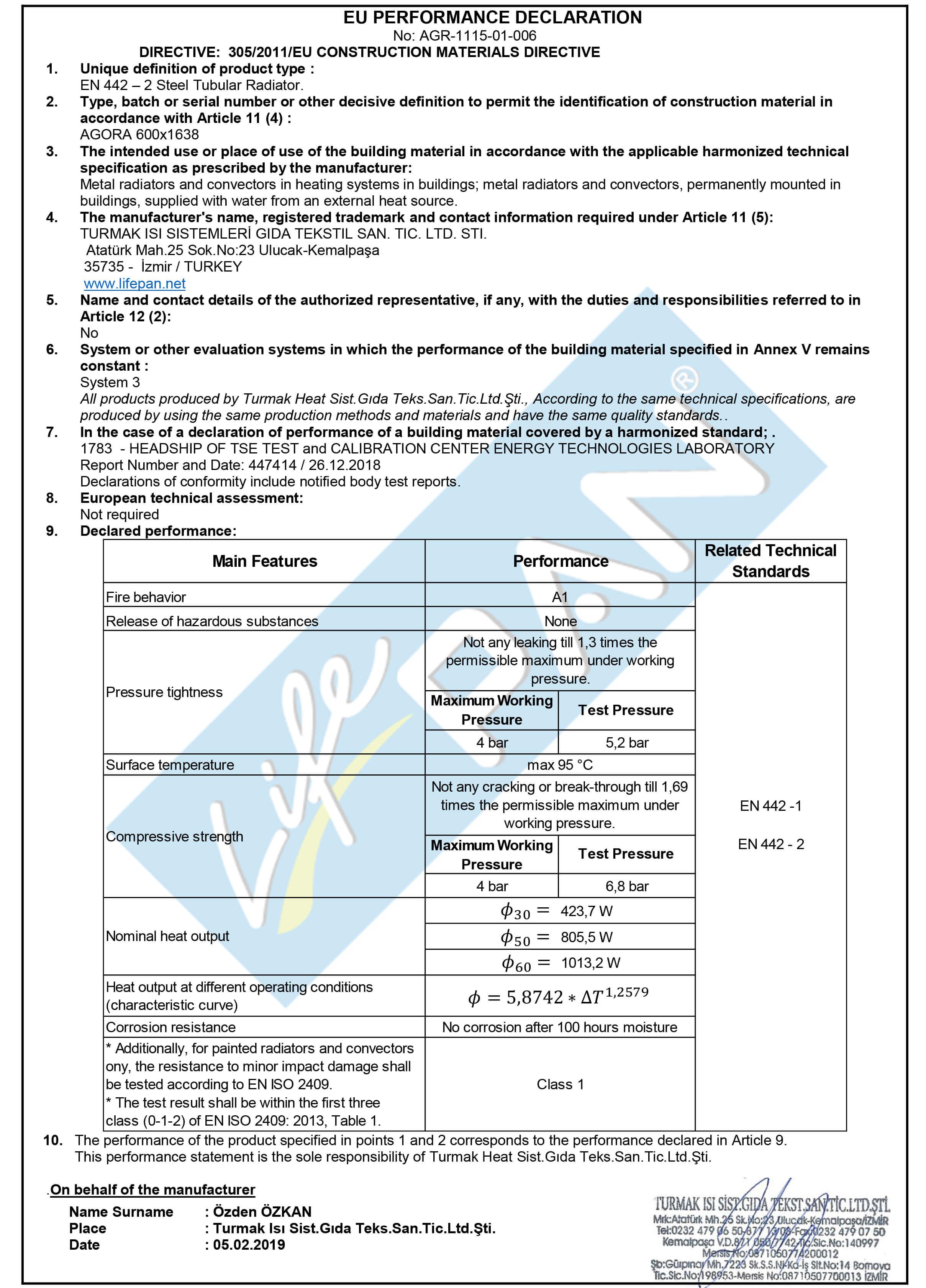 AGORA - 600x1638 EU PERFORMANCE DECLARATION